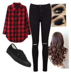 """""""5 Seconds Of Summer Luke Hemmings Good Girls Video Outfit"""" by markellapapandreou ❤ liked on Polyvore featuring Vans and Miss Selfridge"""