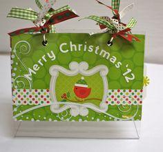Doodlebug Christmas Mini on Acrylic Stand - Scrapbook.com
