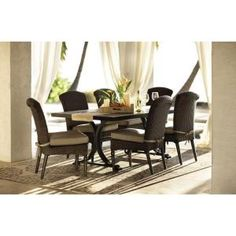 $2,000 Home Decorators Collection Outdoor Martingale Marrone Grey 7-Piece Patio Dining Set-1471410810 at The Home Depot
