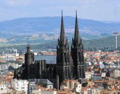 Puy-de-Dôme - La cathédrale de Clermont-Ferrand [Auvergne]