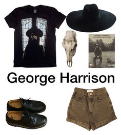 """""""All things must pass"""" by nannva ❤ liked on Polyvore featuring George, American Apparel, Dr. Martens, Yves Saint Laurent and Barbara Cosgrove"""