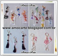 Chaveiros de pedraria http://amocarte.blogspot.com.br/