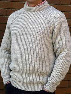 Fisherman's rib sweater | Knitting inspiration | Pinterest