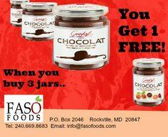 www.fasofoods.com Buy 3 get one free