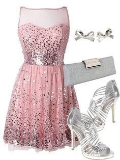 Beautiful pink dress!