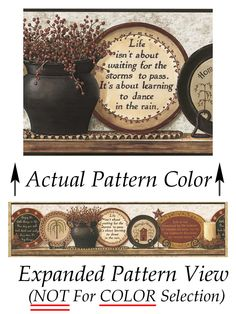 47 best primitive wall borders images wall borders wall mounted rh pinterest com  country wallpaper borders for kitchens