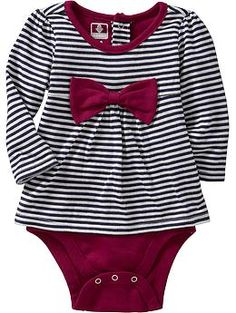 Striped 2-in-1 Bodysuits for Baby | Old Navy