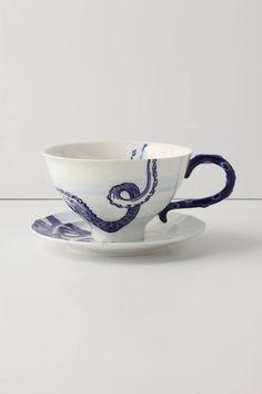 octopus tea cup | anthropologie.com