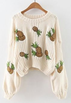 You're going to look impeccable no matter what you decide to pair this sweater with! Lovely and stylish, show off even in the winter. Get more awesome ones at Cupshe.com