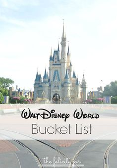 Steps to Plan an Unforgettable Honeymoon A great list of things to do at Walt Disney World that many repeat visitors have missed. If youre planning at trip to the World, this is a must-see!