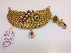 Gold Jewelry In Nepal Info: 8008260258 Beaded Jewelry Designs, Gold Jewellery Design, Necklace Designs, Gold Jewelry, Antique Jewellery, Jewelery, Gold Chocker Necklace, Chokers, Indian Jewelry