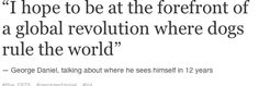 george daniel quote the 1975