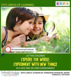 Eyfs Areas Of Learning, Eyfs Curriculum, Nursery School, Indore, Kindergarten Teachers, Pre School, Experiment, Physics, Opportunity