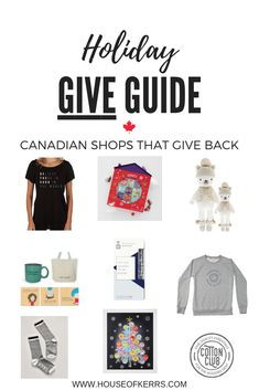 Holiday GIVE Guide 2018: Canadian Shops That Give Back | Shop Canada | Gifts That Give Back | Purdys Chocolates | Reckless Wonder Socks | Shine The Light On T-Shirt | Other Life Lessons | Happiness Is Inc Sweatshirt | Cuddle + Kind Dolls | My Kindness Calendar | Unique Gift Ideas | Advent Calendar Alternatives | Holiday Rafikis | Me to WE Holiday Guide | Unique Gifts, Best Gifts, Gift Guide For Him, Shine The Light, All Family, Giving Back, Holiday Gift Guide, Holiday Travel, Cuddle