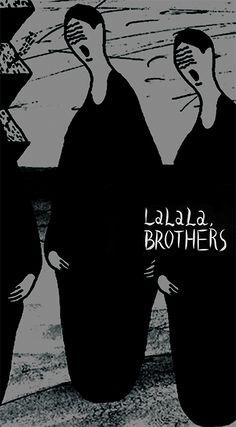 山田 遼志「LaLaLa, BROTHERS」   多摩美術大学グラフィックデザイン学科卒業制作展2011