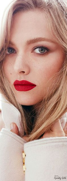 Amanda Seyfried ~ Vogue Russia Beauty, September 2016