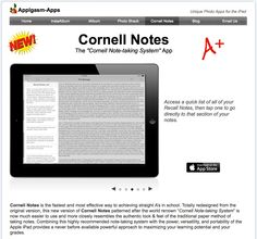 Noteworthy Ways To Make Your Notes Count  Cornell Notes Academic