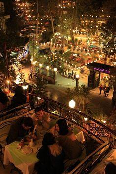 Nightlife in Darband - Tehran, Iran