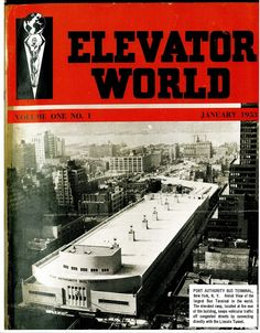 #TBT to the first issue of ELEVATOR WORLD! William C. Sturgeon put the January 1953 issue's mailing labels on over the holidays. #elevators #lifts #escalators