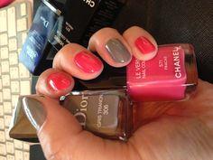 Chanel & Dior spring summer nail 2013