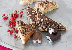 Macaroon Bars: A holiday cookie inspired by Almond Joy and Mounds