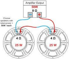 speaker parallel wiring - Google 検索