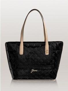 GUESS Women's Reiko Small Carryall Tote, BLACK:Amazon:Clothing