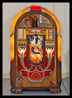 "1941 Wurlitzer ""Peacock"" Jukebox"