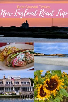 Coastal New England is beautiful in the fall. Water is kissed by the sun and crowds have disappeared. Visit the best destinations for a road trip. | Where to travel in New England | Best Coastal New England | Fall in New England #Connecticut #Massachusetts #Maine #RhodeIsland #NewEngland #USA