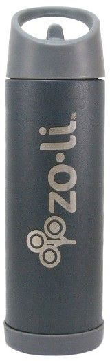 Infant Zoli Pow Pip 16-Ounce Insulated Stainless Steel Bottle With Straw