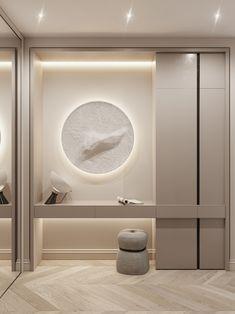 AB | SENSE AND SENSIBILITY on Behance Bedroom Closet Design, Bedroom Furniture Design, Home Room Design, Home Interior Design, Interior Architecture, Living Room Designs, House Design, Home Entrance Decor, Home Decor