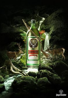 Jagermeister Key Visuals by Good Evening , via Behance