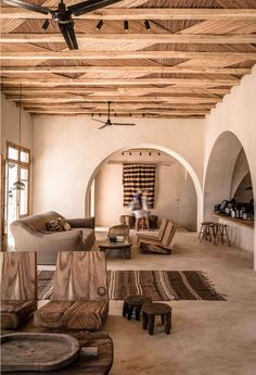 Scorpios Mykonos: The celebration of the Mediterranean Bohemian style - Home Design & Interior Ideas Home Interior Design, Interior Architecture, Interior And Exterior, Interior Decorating, Decorating Tips, Room Interior, Modern Interior, Greece Architecture, Natural Interior