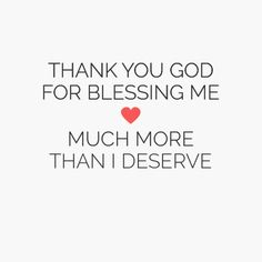 Thank you god for blessing me