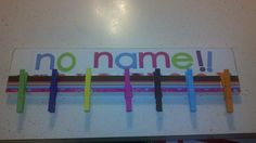 for papers without names!