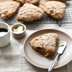 Whole wheat maple walnut scones