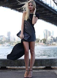 las faldas asimetricas estan de moda