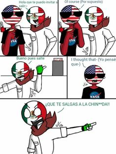 """(countryhumans) from the story Mis Dibujos to feos :""""v (🇺🇸USAMEX Y MEXUSA🇲🇽) by ElOwOpoista with reads. Stupid Memes, Funny Memes, Black Jokes, Humans Meme, Mexican Memes, Mexican Stuff, Undertale Comic Funny, Humor Mexicano, Mundo Comic"""