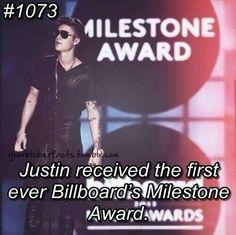 Proud. #Bieberfacts