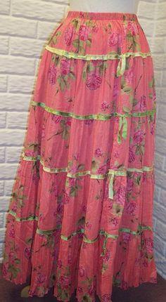 Londa's Free Tiered Skirt #tutorial