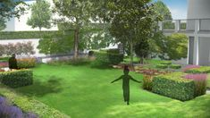 Studio Bellesi Giuntoli - Giardino di una villa a Sansepolcro