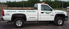 Landscaping Lawn Service Truck