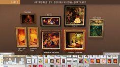 Mod The Sims - Fantasy Paintings by Donika Nikova - ShaynART Part 2