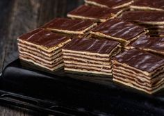 Hungarian Cake, Hungarian Recipes, Russian Cakes, Cake Cookies, Deserts, Food And Drink, Cooking Recipes, Sweets, Chocolate
