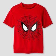 a1995e92200 Toddler Boys  Spiderman Logo Rash Guard - Red 2T