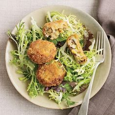 ... Croquettes | You also can make the croquettes larger for a vegetarian