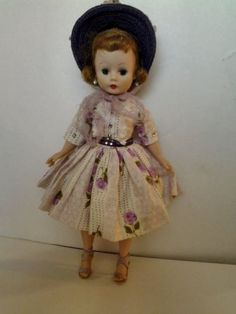 Vintage-Madame-Alexander-Cissette-Doll-Rare-Outfit-Strawberry-Blonde-Tagged