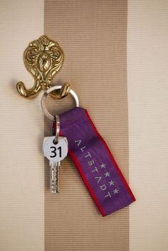 Room key - Hotel Altstadt Vienna #whitelinehotels #thomasethteamfashion