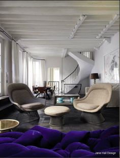 Furniture inspired by Mid Century Modern design featured in AD Spain