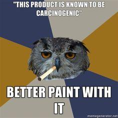 Art Student Owl Meme.
